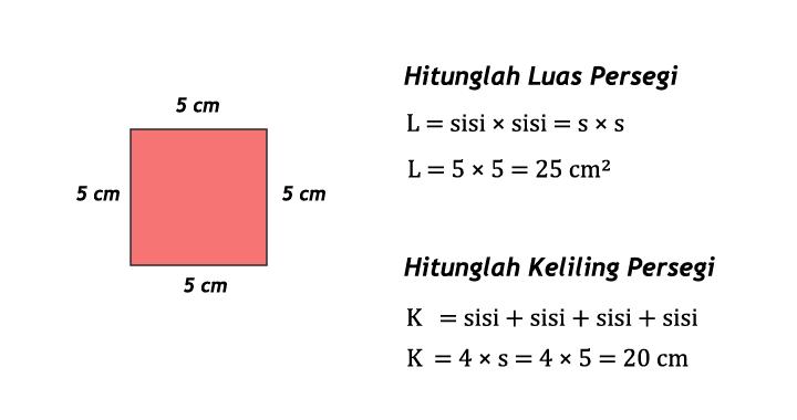 contoh soal persegi