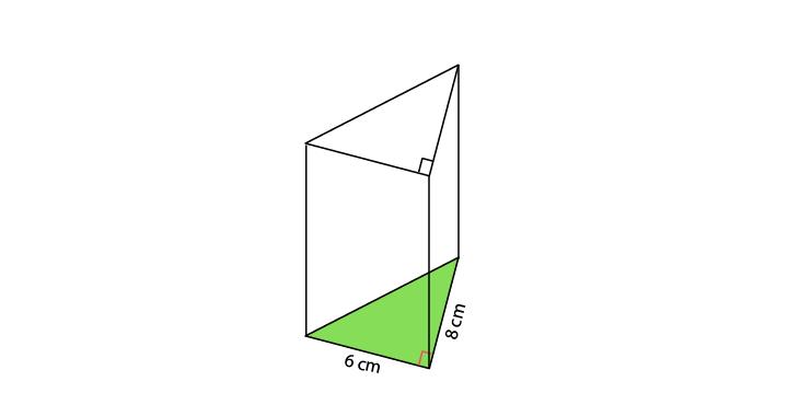 soal mencari tinggi prisma segitiga